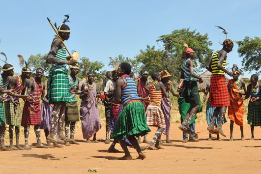 Karamojong Cultural Dance By Africa One Tours