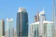 Dubai skyscrapers, Africa One Tours and Travel.