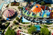 Roller Coaster at the Theme Park in Orlando by Africa One Tours & Travel