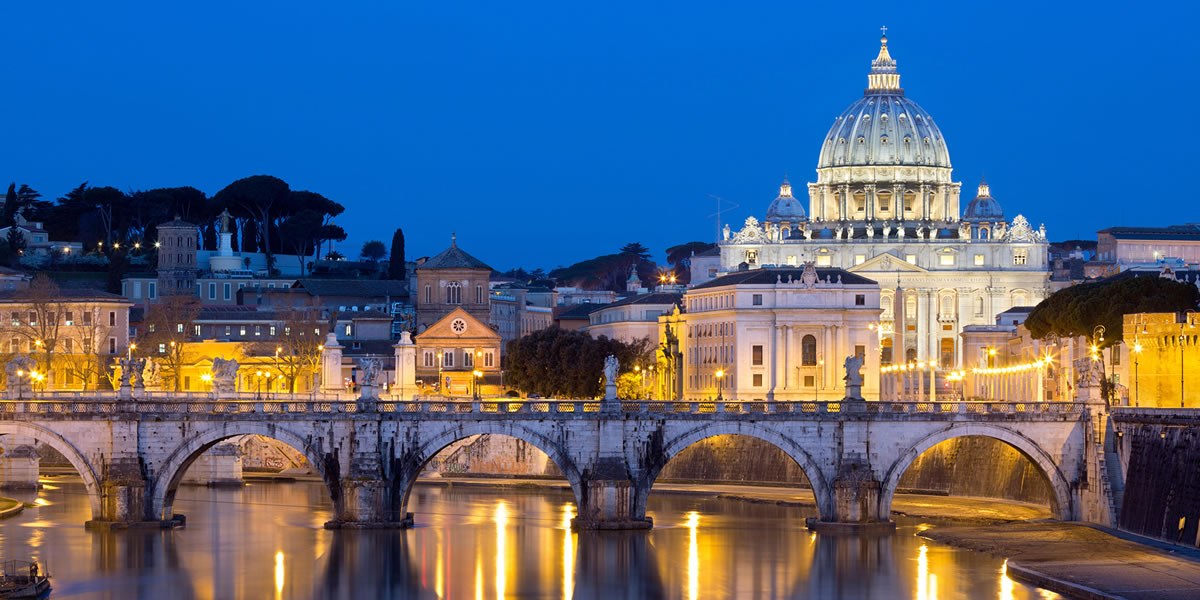 Rome the Capital City Of Italy with Vatican City In it