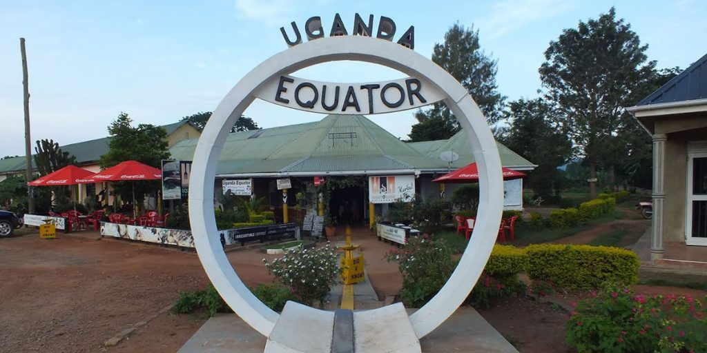 The Equator Passing in Uganda