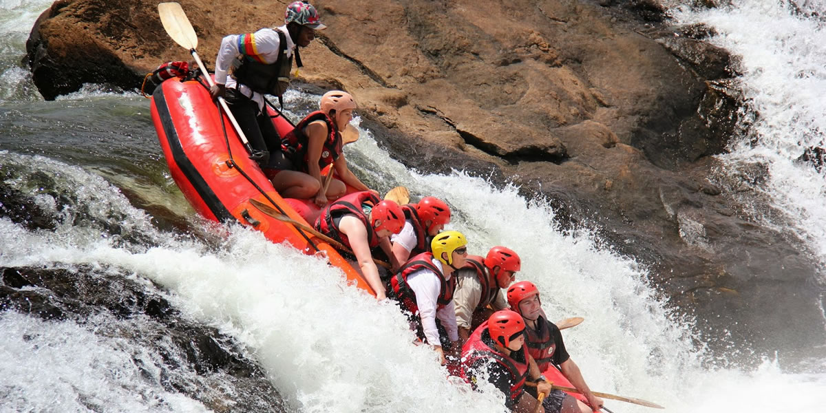 White Water Rafting by Africa One Tours