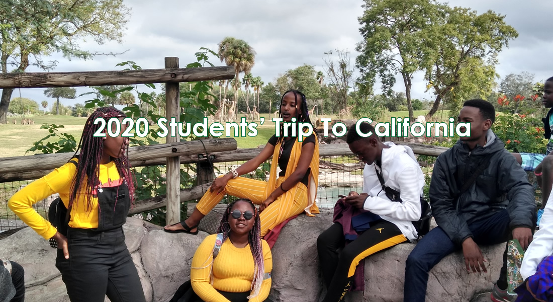 2019 Students' Trip To California..