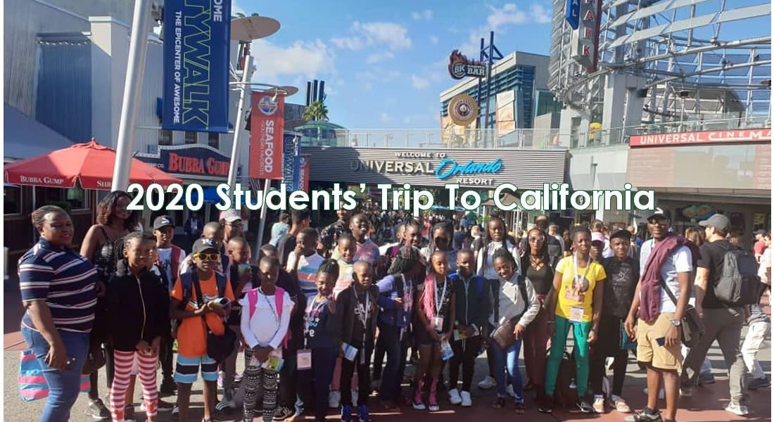2019 Students' Trip To California