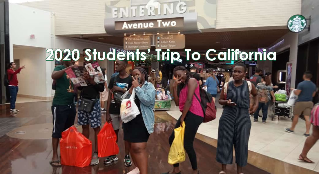 2019 Students' Trip To USA