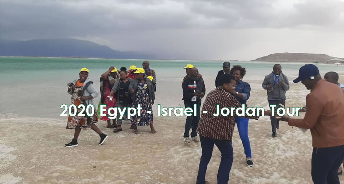 Tourists in Dead sea in Israel, by Africa One Tours and Travel