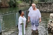 Baptism in Jordan River, Africa One Tours and Travel